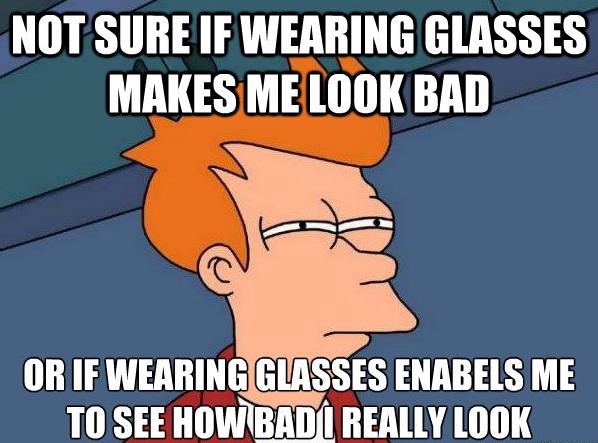 glasses and frames