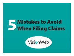 Claim Filing Mistakes