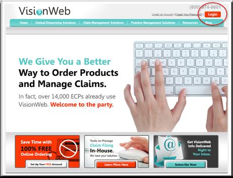 VisionWeb Newsite Rebrand