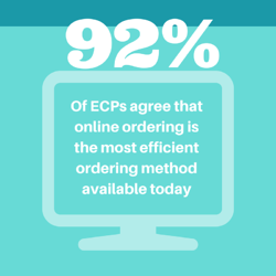 online ordering statistics