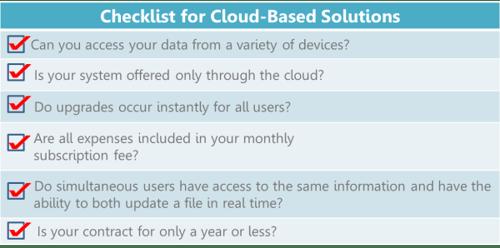 Cloud-Based Practice Management