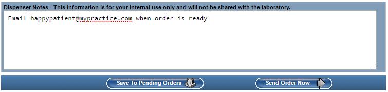 optical ordering