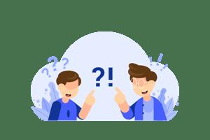 Question Box - Vector Illustration