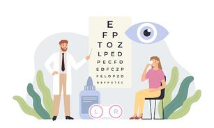 ophthalmologist-checking-vision-eye-healthcare-test-ophthalmology-vector-id1257588218